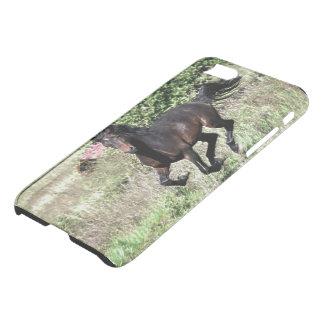Capa iPhone 8/7 Cavalo de galope da castanha