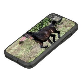 Capa iPhone 8/ 7 Cavalo de galope da castanha