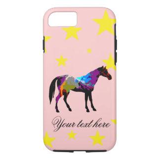 Capa iPhone 8/ 7 Cavalo de raça personalizado