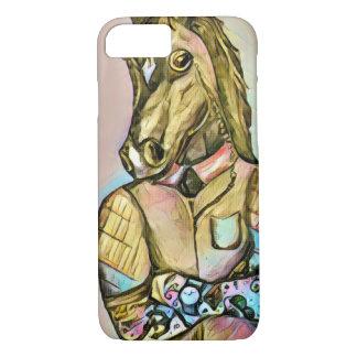 Capa iPhone 8/ 7 Cavalo do cavalheiro do tatuagem