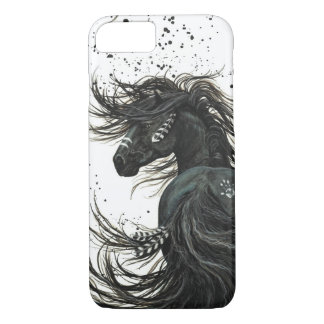 Capa iPhone 8/ 7 Cavalo majestoso do mustang pelo caso do iPhone 7