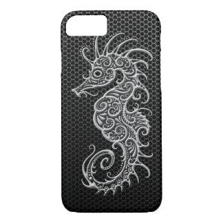 Capa iPhone 8/ 7 Cavalo marinho de aço da malha