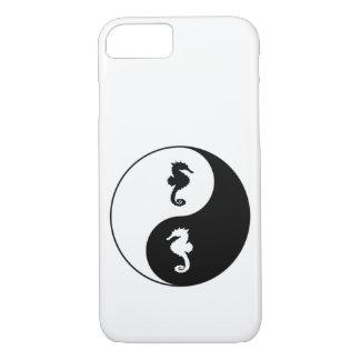 Capa iPhone 8/ 7 Cavalo marinho de Yin Yang