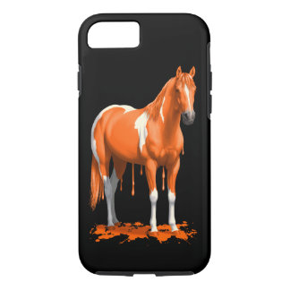 Capa iPhone 8/ 7 Cavalo molhado da pintura do gotejamento