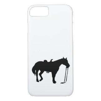 Capa iPhone 8/ 7 Cavalo preto