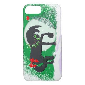 Capa iPhone 8/ 7 Cavalos do coração VI (árvore do feriado)
