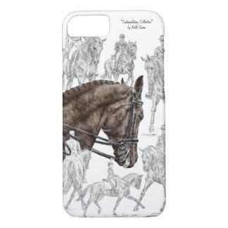 Capa iPhone 8/ 7 Cavalos recolhidos FEI do adestramento