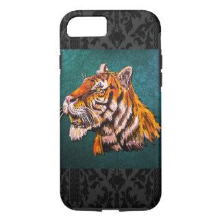 Capa iPhone 8/ 7 Cerceta observador do tigre
