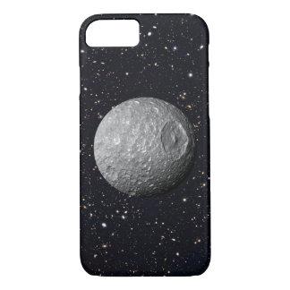 Capa iPhone 8/ 7 Céu estrelado de Mimas da lua de Saturn