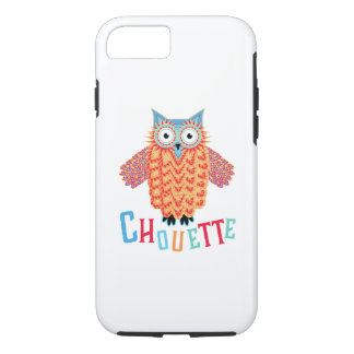 Capa iPhone 8/ 7 Chalaça muito legal do francês da coruja