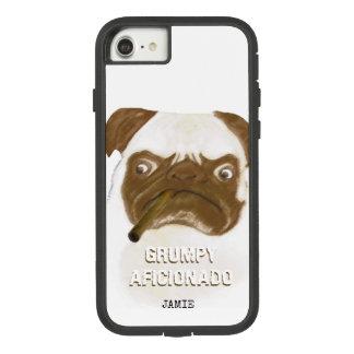 Capa iPhone 8/ 7 Charuto mal-humorado personalizado de Puggy do