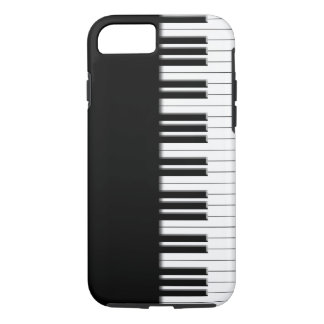 Capa iPhone 8/ 7 Chaves de teclado do piano