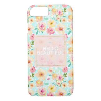 Capa iPhone 8/ 7 Chique floral