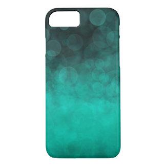 Capa iPhone 8/ 7 Ciano do Aqua manchado - iPhone de Apple 8/7 de