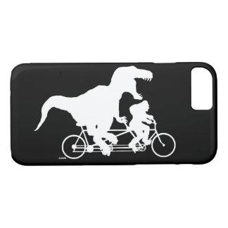 Capa iPhone 8/ 7 Ciclismo ido de Squatchin com T-rex