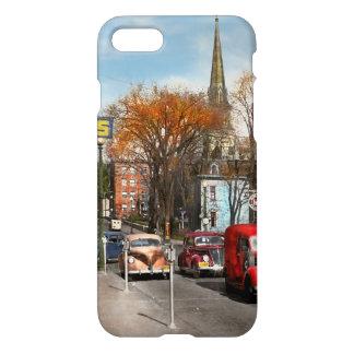 Capa iPhone 8/7 Cidade - Amsterdão NY - Amsterdão do centro 1941