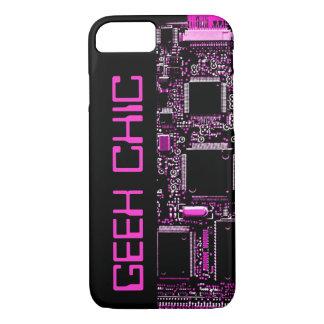 """Capa iPhone 8/ 7 Circuite o preto do """"chique"""" do caso do iPhone 7"""