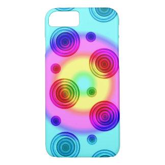 Capa iPhone 8/ 7 círculos brilhantes