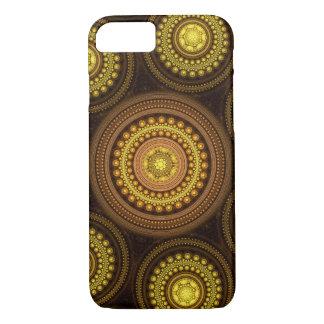 Capa iPhone 8/ 7 Círculos do Fractal