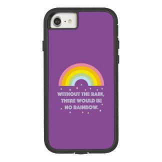 Capa iPhone 8/ 7 Citações inspiradas e inspiradores do arco-íris