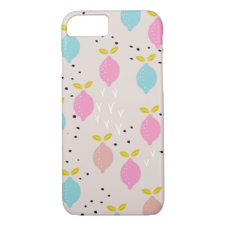Capa iPhone 8/ 7 Citrinos coloridos do limão doce do verão