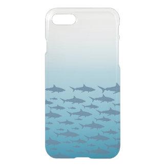 Capa iPhone 8/7 Claramente caso do iPhone 7 dos peixes do oceano