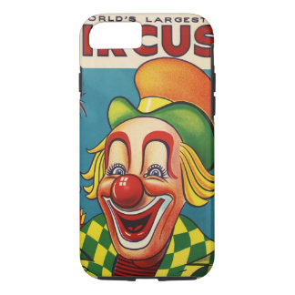 Capa iPhone 8/ 7 Clyde Beatty & poster do circo de Bros do Cole