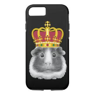 Capa iPhone 8/ 7 Cobaia em uma coroa