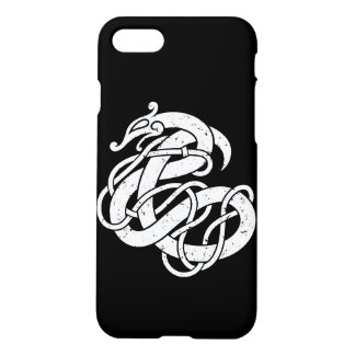 Capa iPhone 8/7 Cobra do estilo de Viking Urnes