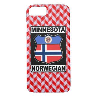 Capa iPhone 8/ 7 Cobrir americano do telefone do Minnesotan