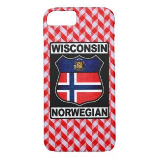Capa iPhone 8/ 7 Cobrir americano norueguês do telefone de