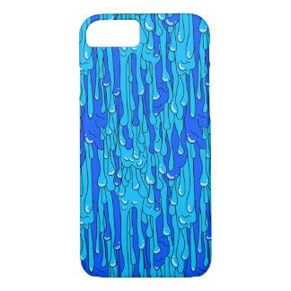 Capa iPhone 8/ 7 Cobrir azul do telefone do limo
