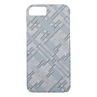 Capa iPhone 8/ 7 Cobrir cinzento do telefone do camo