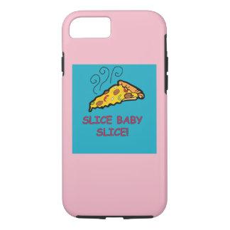 Capa iPhone 8/ 7 cobrir da pizza da fatia do bebê da fatia!