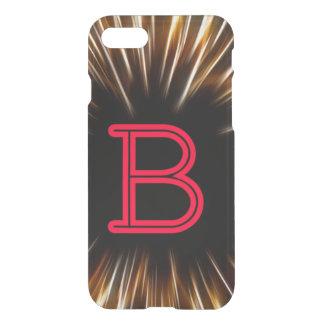 Capa iPhone 8/7 Cobrir de Letter'B Iphone