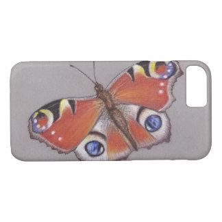 Capa iPhone 8/ 7 Cobrir do iphone 7 da borboleta de pavão