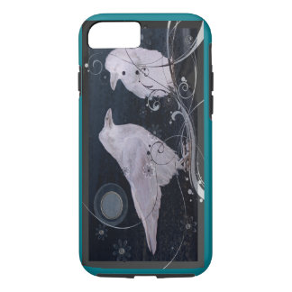 Capa iPhone 8/ 7 Cobrir do iPhone da lua do corvo