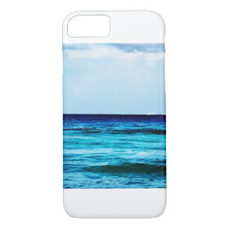 Capa iPhone 8/ 7 Cobrir do telefone da parte dianteira de oceano