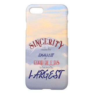 Capa iPhone 8/7 Cobrir do telefone da sinceridade - #Shop4Sadaqah