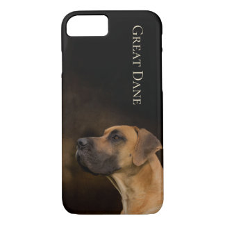 Capa iPhone 8/ 7 Cobrir do telefone de great dane
