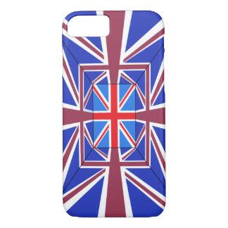 Capa iPhone 8/ 7 Cobrir do telefone de Union Jack