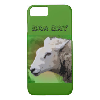 Capa iPhone 8/ 7 Cobrir do telefone do dia do Baa