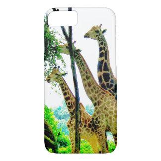 Capa iPhone 8/ 7 Cobrir do telefone do girafa
