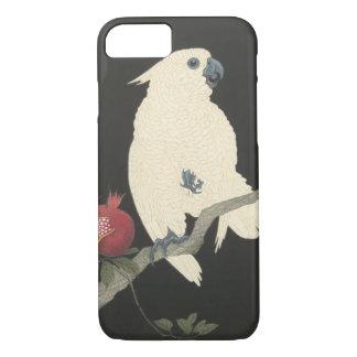 Capa iPhone 8/ 7 Cockatoo branco japonês das belas artes | do
