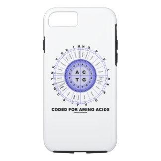 Capa iPhone 8/ 7 Codificado para a roda do Codon dos ácidos