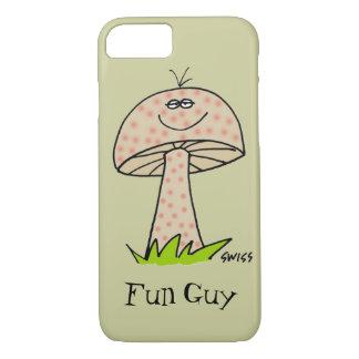 Capa iPhone 8/ 7 Cogumelo bonito dos desenhos animados dos fungos