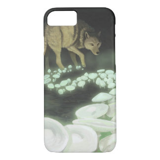 Capa iPhone 8/ 7 Cogumelos de arrasto da morte do lobo