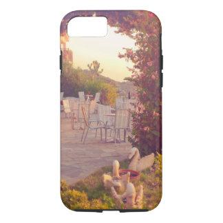 Capa iPhone 8/ 7 coleção do viagem. Piscina. Kefalonia