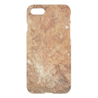Capa iPhone 8/7 coleção natural. rocha dourada. Piscina