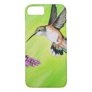 Capa iPhone 8/ 7 Colibri e Lilac